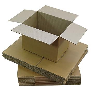 Triplast TPLBX25SINGL7X5X5, caja de cartón pequeña para envíos postales, 178 x 127 x 127 mm.: Amazon.es: Oficina y papelería