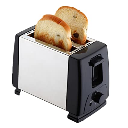 Inovey Eléctrico Automático 2 Rebanadas Tostadora Sandwich ...