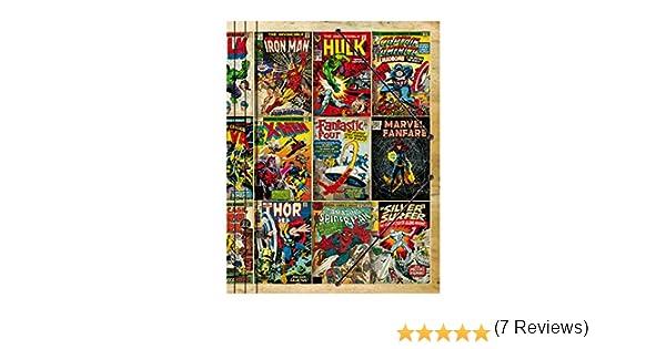 Grupo Erik Editores Premium Marvel - Carpeta
