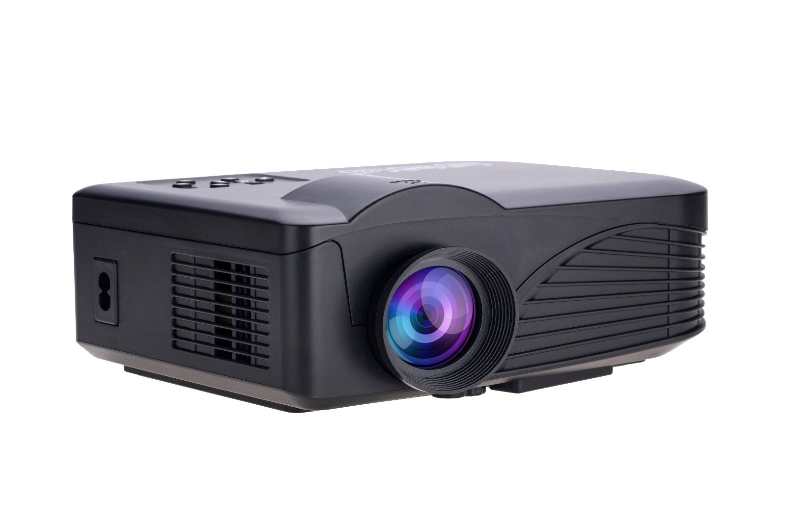 Home Cinema Projectors, VerRich Home Cinema Theater HD 3D Projector Multimedia LED Projector HD 1080P PC AV TV VGA USB HDMI 3D 1000 Lumens