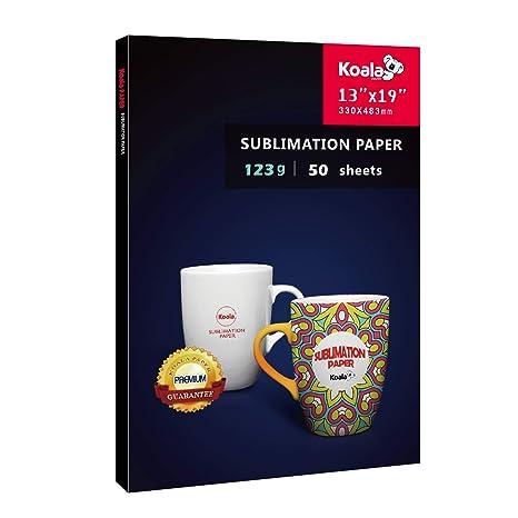 Amazon.com: Koala 50 hojas de papel de transferencia de ...
