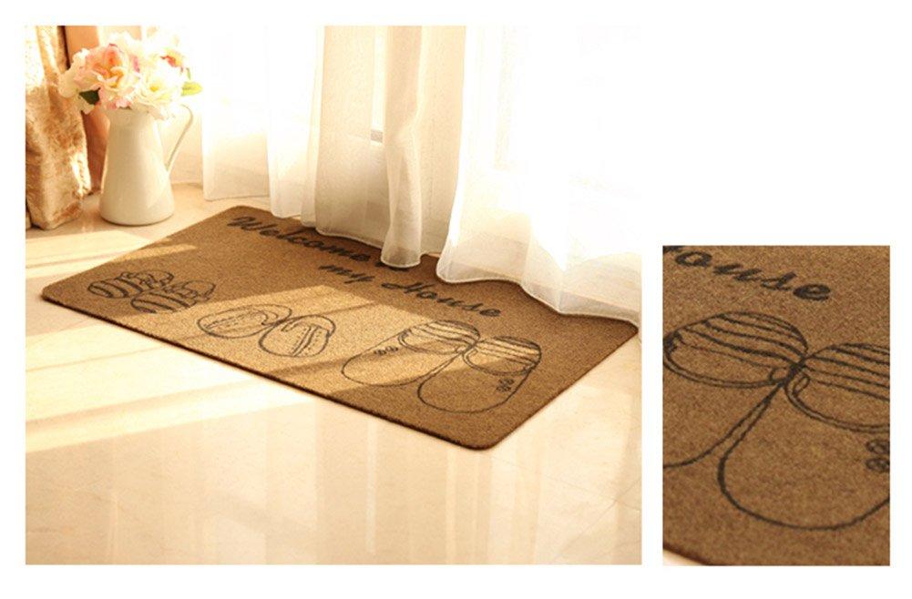Home Home Home Fußmatten, Anti-Rutsch-Matte Rural Blended Kreativität sauber Sohle Rechteck Umweltschutz Technologie Badezimmer Küche Schlafzimmer Sicherheit Verschleißfest ( Farbe   A , größe   6090CM ) B07DWZFVPG Duschmatten 2a0613