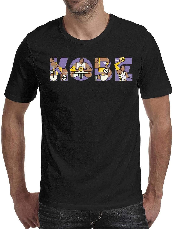 Funny Slim Fit Short Sleeve CALM FOX Mens Guys T Shirts MVP-Los-Anageles