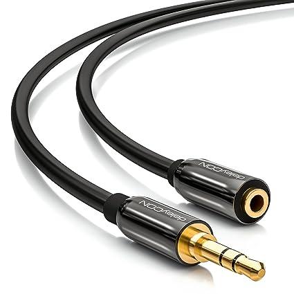 10m Audio Stereo Kopfhörer Verlängerungskabel 3,5mm Klinke Stecker /> Buchse