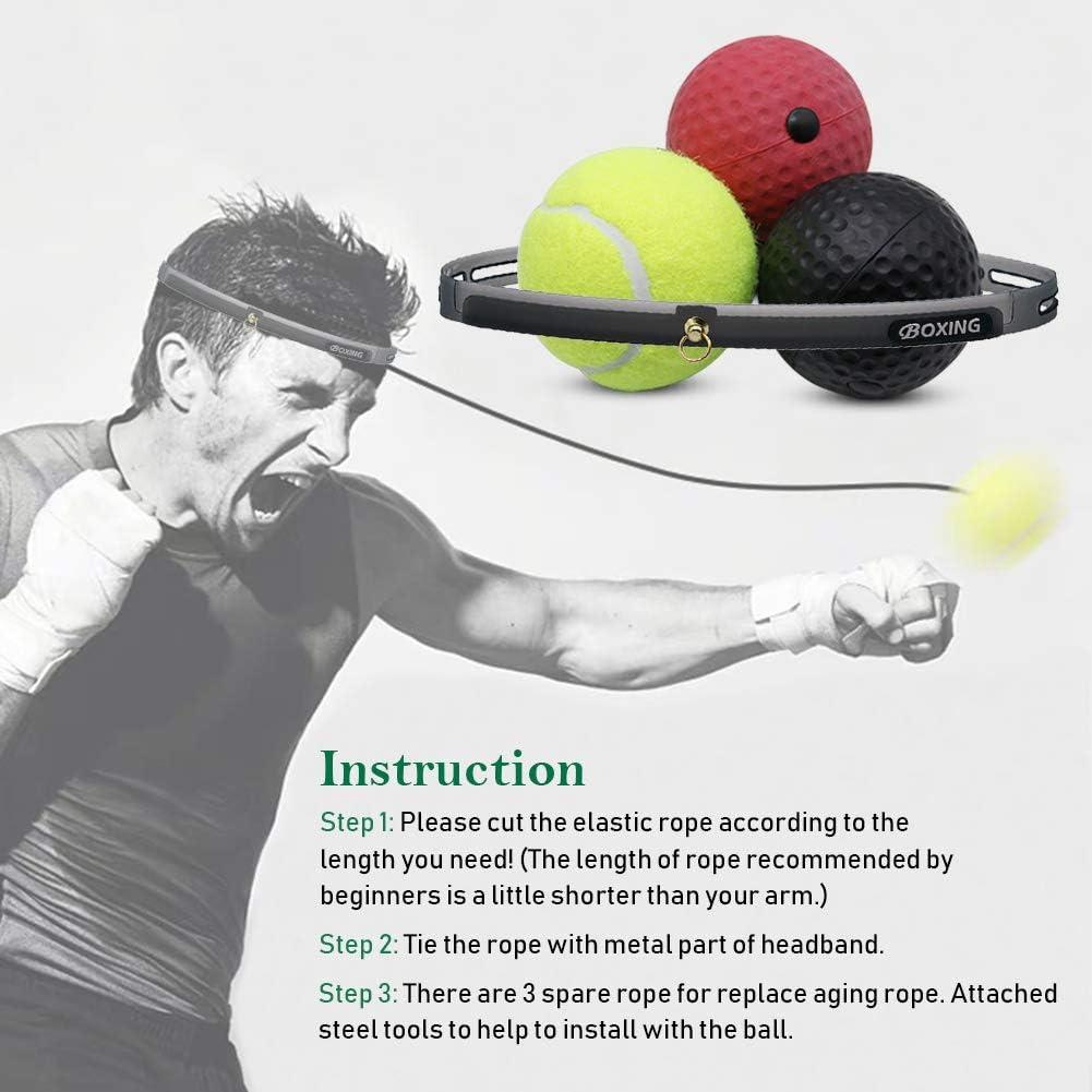Amazon.com: Hausse - Bola de boxeo, pelota de reacción, para ...