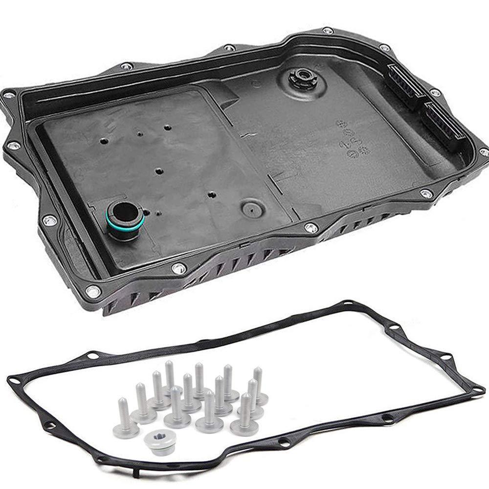Auto Transmission Oil Pan + Filter + Gasket + Plug +Bolts Kit For BMW GA8HP45Z X3 X5 X6 24117624192