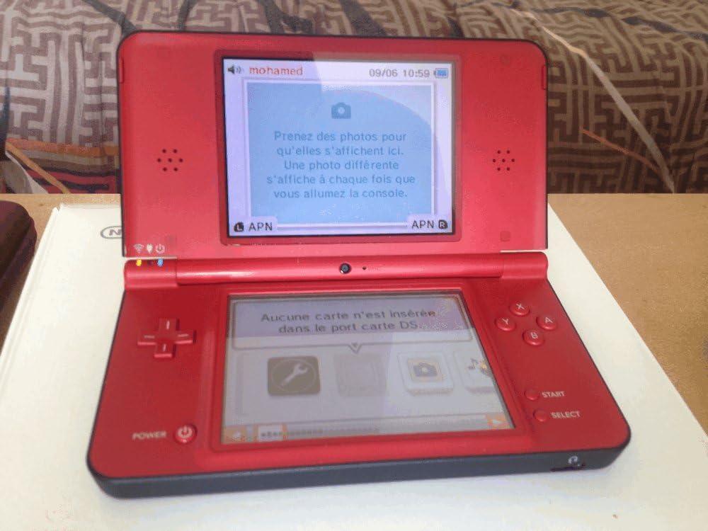 Nintendo DSi XL - Red (Super Mario Bros  25th Anniversary