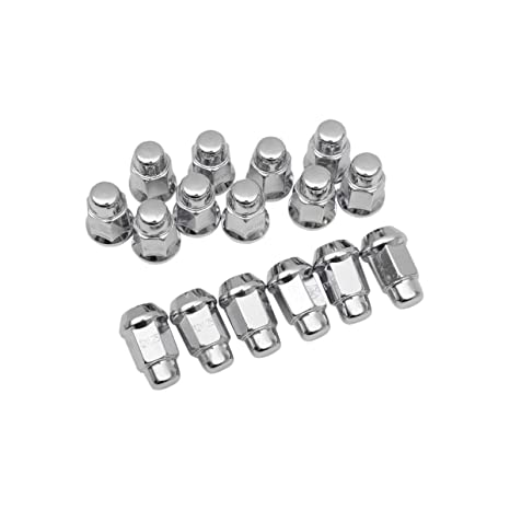 16-18 YAMAHA YXZ1000R: ITP Lug Nut Set (Chrome / 12x1 25mm / Tapered)