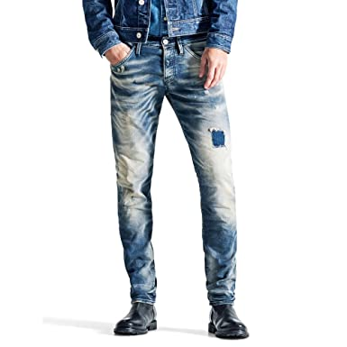 Jack and Jones Jjglenn Jjfox Jeans Homme Bleu  Amazon.fr  Vêtements ... e25702e2d5b3
