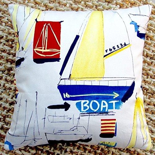 Artisan Pillows Sail Boat Beach Nautical Marine Coastal Accent
