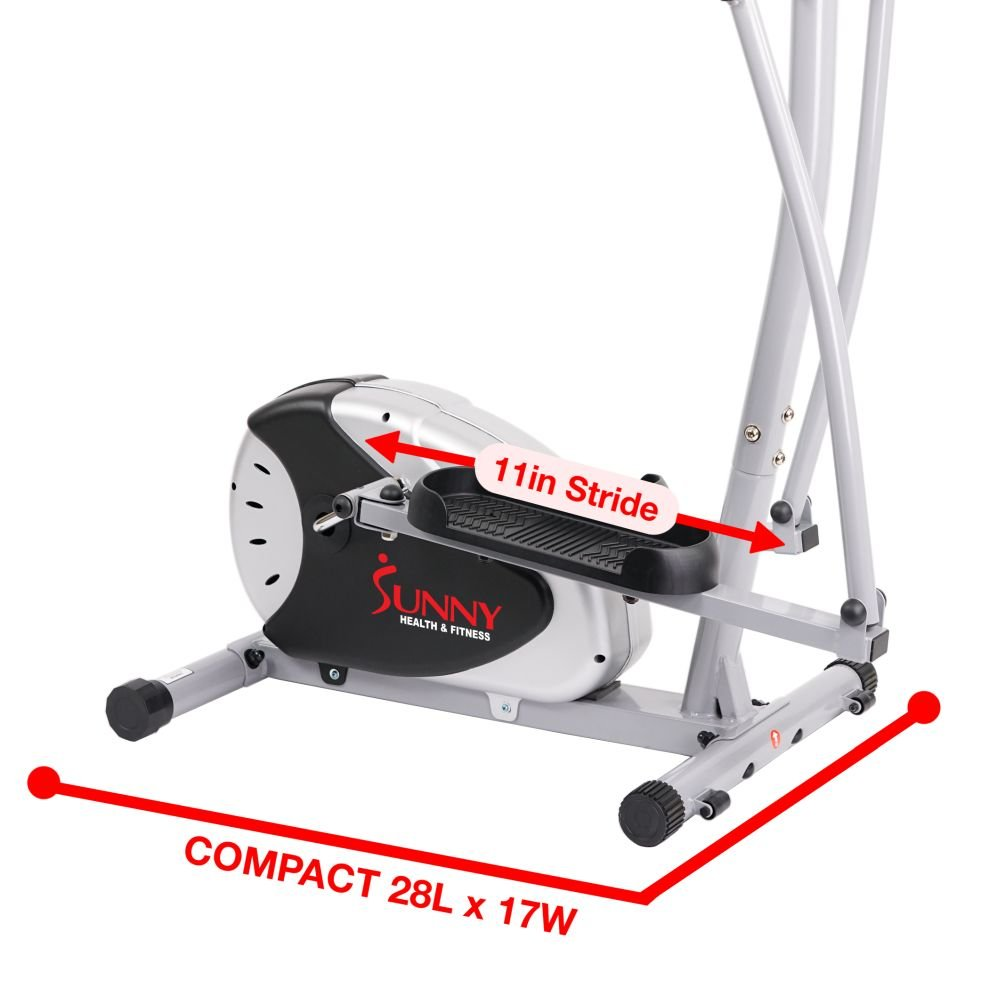 Magnetic Elliptical Machine Trainer by Sunny Health & Fitness - SF-E905 by Sunny Health & Fitness (Image #16)