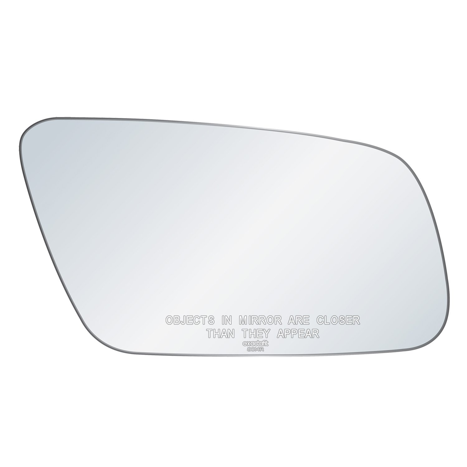 Left passenger Wide Angle side wing mirror glass for Audi A4 99-01 heated