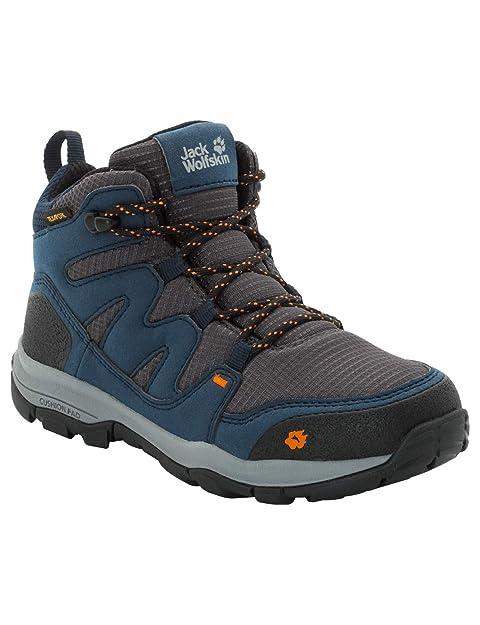 huge discount ba3d6 69f65 Jack Wolfskin Unisex-Kinder MTN Attack 3 Texapore Mid Trekking- &  Wanderstiefel