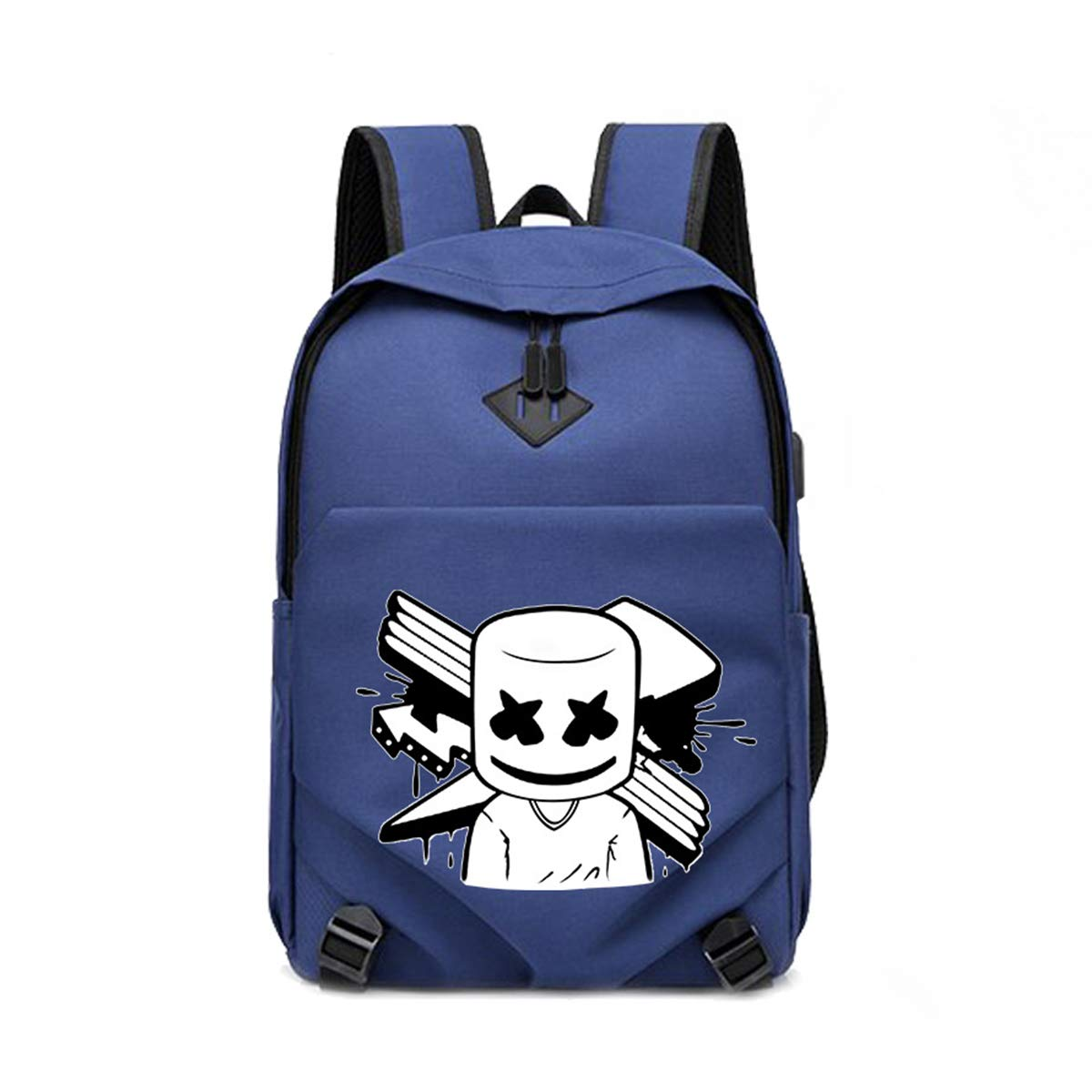DJ Backpack Luminous Charge Port Travel Laptop Bag Bar Daypack with USB
