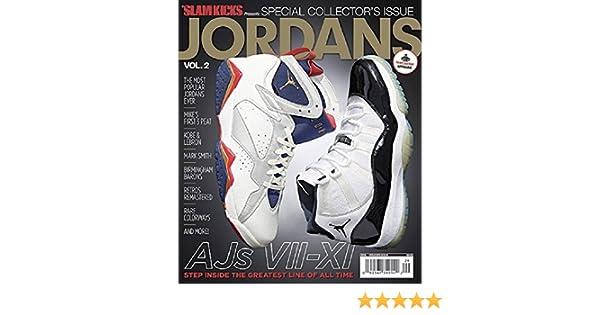 086e6f95a8b040 ... Slam Kicks Presents Jordans Special Collectors Single Issue Magazine  Vol.2 Slam Kicks