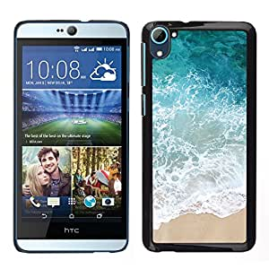 LECELL--Funda protectora / Cubierta / Piel For HTC Desire D826 -- Verano de arena Feliz Naturaleza --