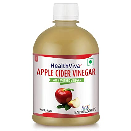 HealthViva Apple Cider Vinegar with Mother, 500 ml: Amazon.in