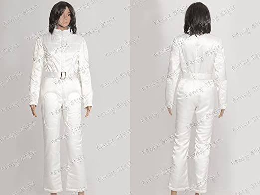 0002a4216a9f Star Wars A New Hope Leia Organa Cosplay Costume Jumpsuit White Custom Made