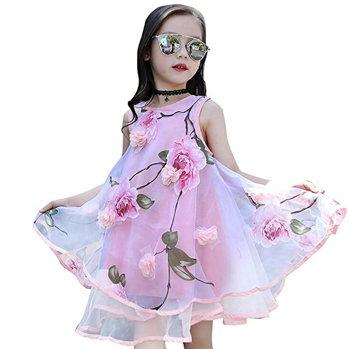 Amazon com: LiLiMeng 2019 New Summer Baby Girls Kids Flower