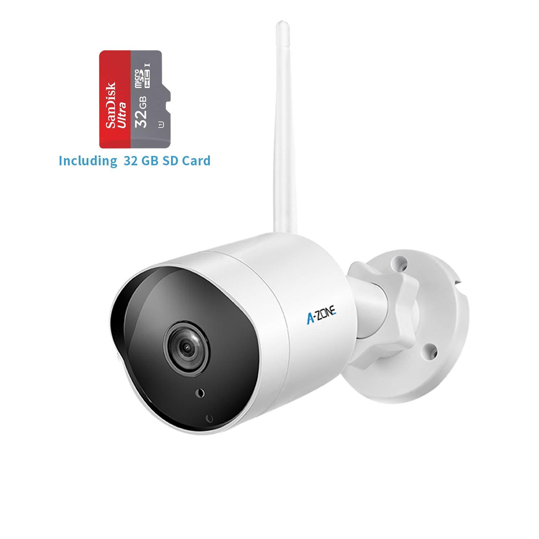 Outdoor Security Camera Hd 1080p Bullet Camera 2 4g