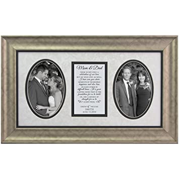 Amazon.com - Wedding Photo Frame for Parents of Bride and Groom ...