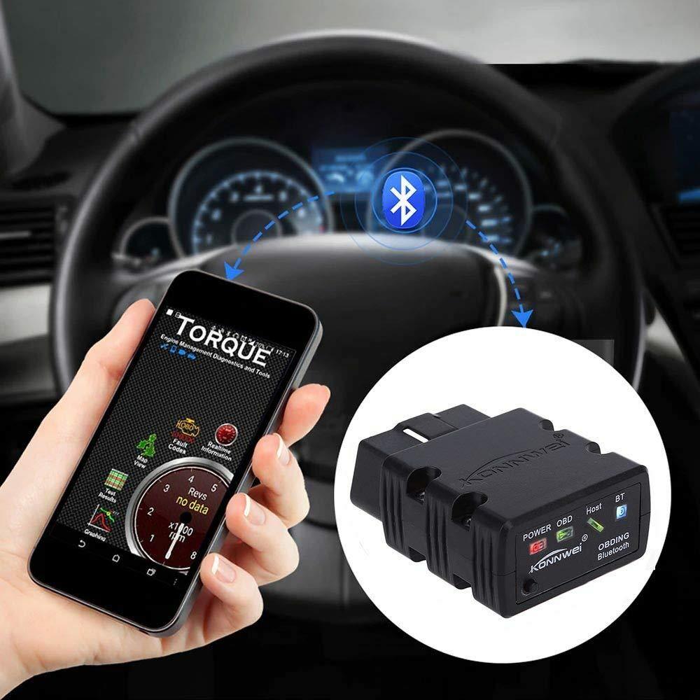 Amazon com: INHOME ELM327 Bluetooth OBD2 Auto Scanner for