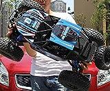 Big Boyz 1/10 radio remote control Monster Car Truck Buggy Off Road 48 cm Long 2.4G (Blue)