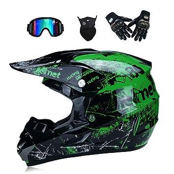 Lunettes Gants Adulte Fox Casque Cadeau Motocross De Masque Moto 9WEDH2IY