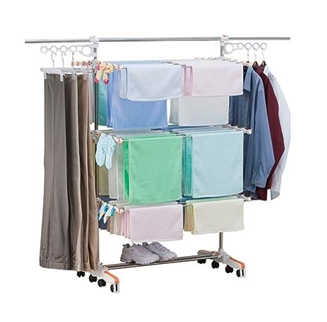 Amazoncom Drying Hanger Laundry Folding 3 Layers Clothes Hanger