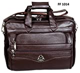 Easies Synthetic Leather Executive Office Bag, 16 Inches