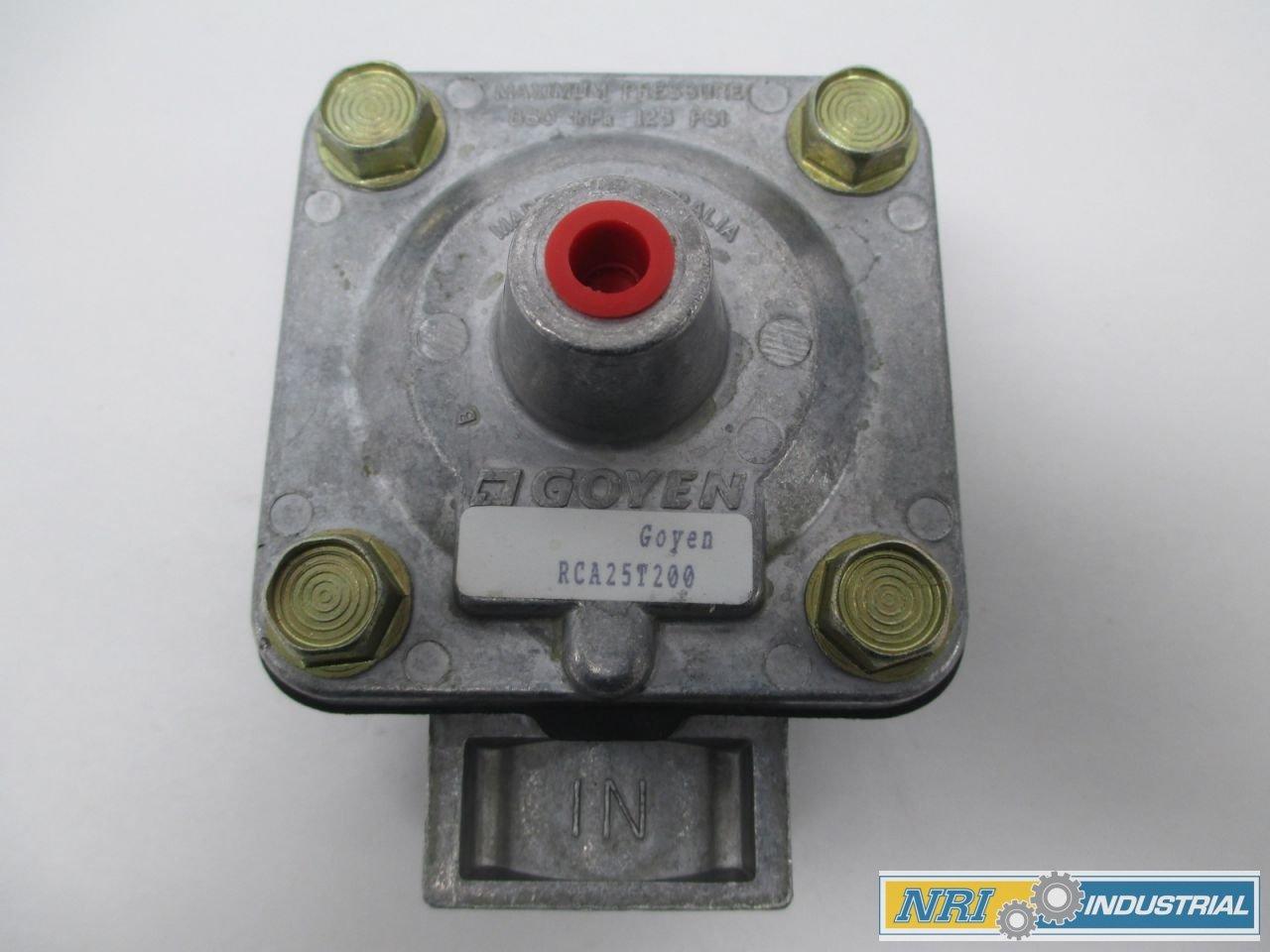 NEW GOYEN RCA25T200 125PSI THREADED 1IN NPT DIAPHRAGM VALVE D283375 by Goyen (Image #1)
