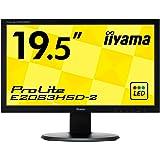 iiyama モニター ディスプレイ E2083HSD-B2 (19.5インチ/HD+/TN/D-sub,DVI-D/3年保証)