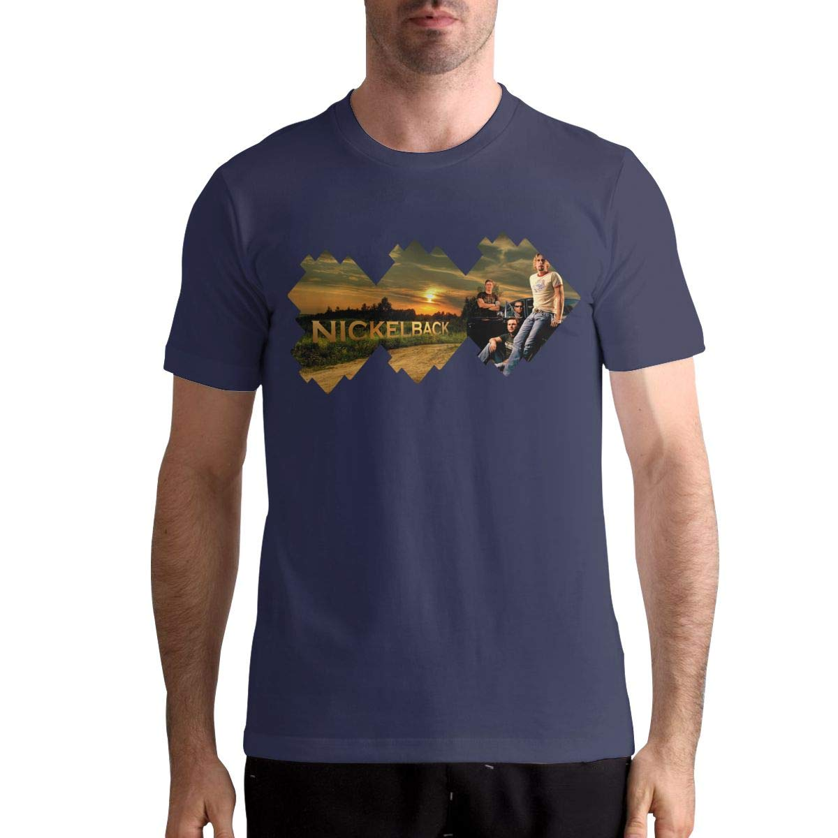Thomassthoms S Nickelback Graphic Printing T Shirt For Summer T Shirt