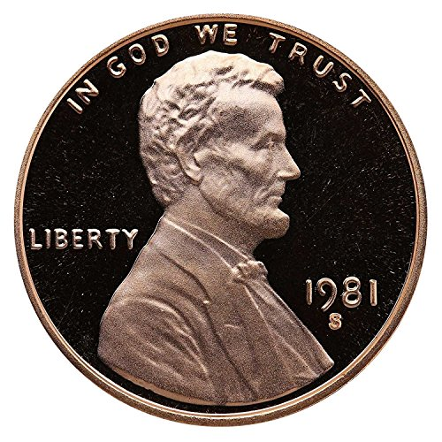 Lincoln Memorial Cent Roll - 1981 S Gem Proof Lincoln Memorial Cent Penny Proof US Mint