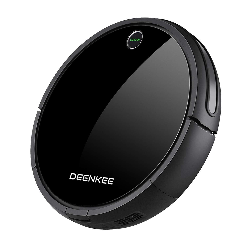 DEENKEE i7 Robot Vacuum Cleaner [Mopping, Sweeping & Vacuuming], Smart Self-Charging Robotic Vacuum Automatic Sweeper with Remote for Pet Hair, Carpet, Hardwood Floors, Tile
