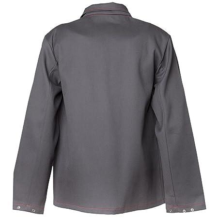 Planam 1742042 soldador/calor chaqueta de trabajo 500 G/m² talla 42 en color gris: Amazon.es: Bricolaje y herramientas