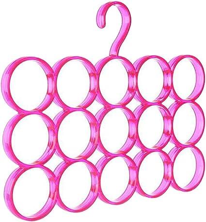 Ganchos para colgar en el hogar, 15 círculos, organizador de ...