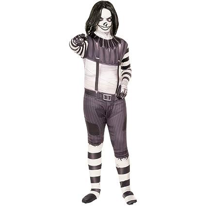 Morphsuits de Risa de Jack Scary Leyendas urbanas niños Disfraz de Halloween - Grandes (Edad 10-12)