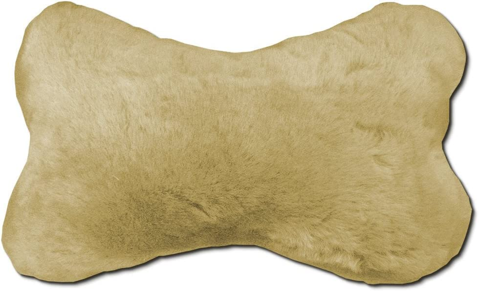 Comfort Sheepskin Neck Pillow Travel