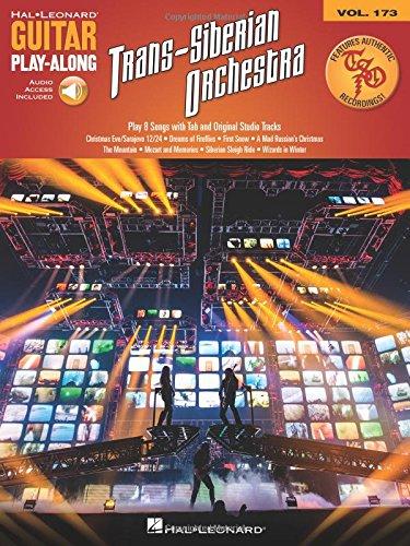 Guitar Play Along Tracks - Trans-Siberian Orchestra: Guitar Play-Along Volume 173 Includes Authentic TSO Original Studio Tracks to Play Along With! (Hal Leonard Guitar Play-Along)
