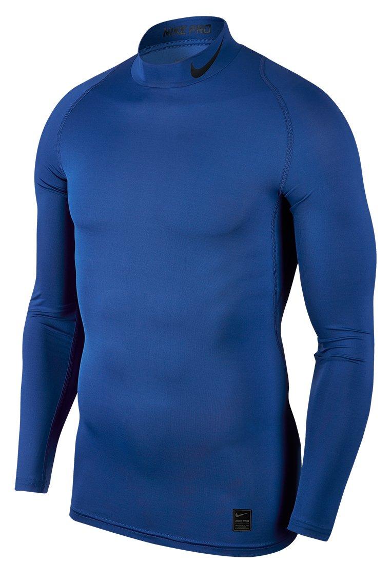 TALLA M. Nike M NP Top LS Comp Mock Long Sleeved t-Shirt, Hombre