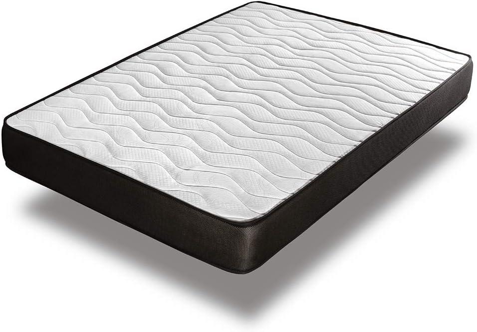 Home Heavenly® - Colchón viscoelastico Matt Reversible y Transpirable 15 H +/- (80_x_180_cm)