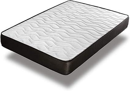 Home Heavenly® - Colchón viscoelastico Matt Reversible y Transpirable 15 H+/- (150_x_190_cm)