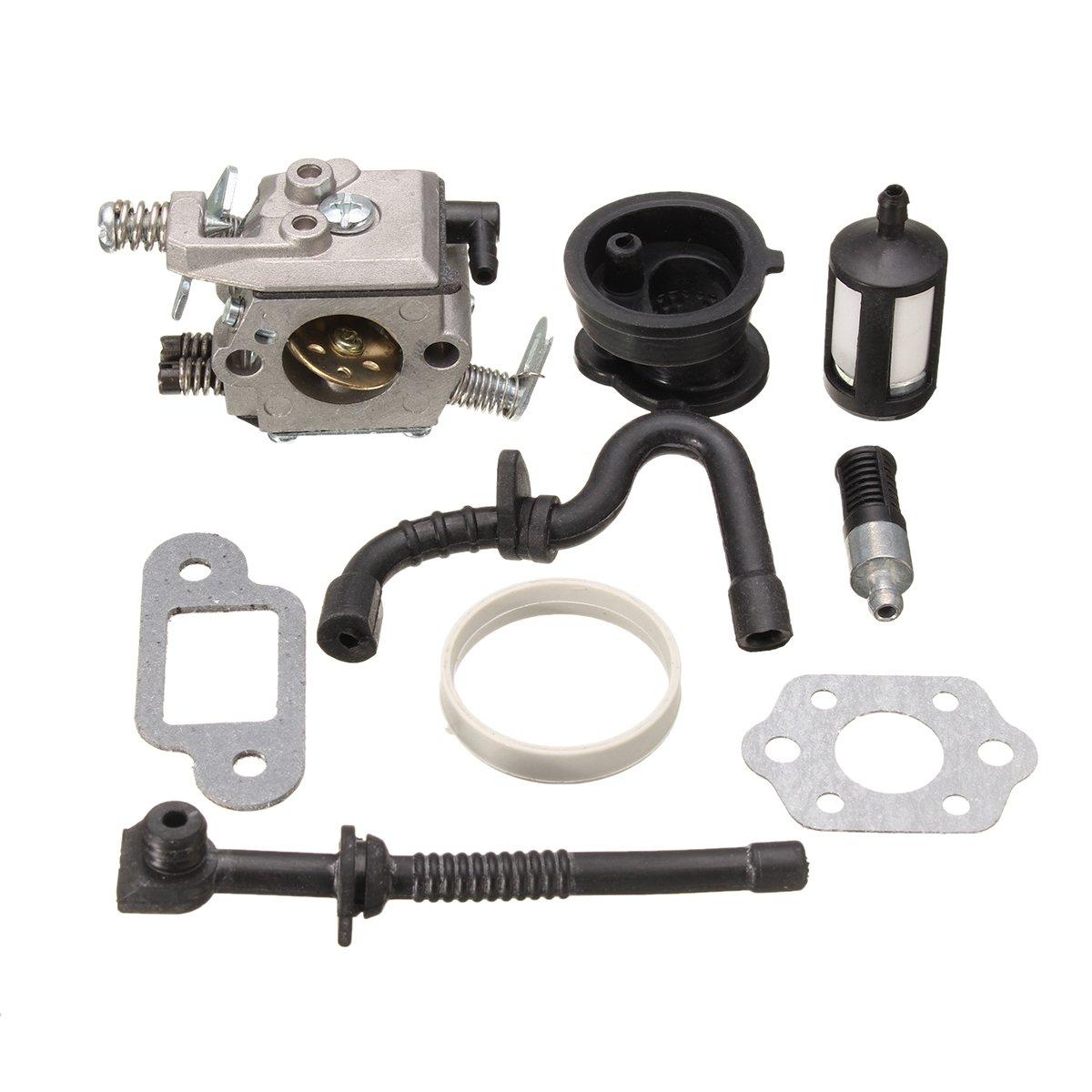 Alamor Kit De Joint De Filtre Pour Ligne De Carburant Du Carburateur Pour La Tronç onneuse Stihl 017 018 Ms170 Ms180
