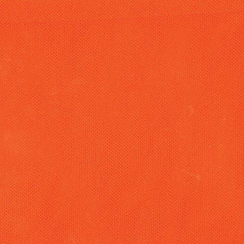 Falk 4000 02630 Diamond Petticoat Net, 54'' x 50 yd, Pumpkin/Orange by Falk