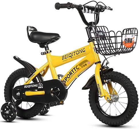 Bicicleta de Bicicleta niño niña Freestyle 4 Colores, Talla 12, 14, 16, 18, 20, con estabilizador.: Amazon.es: Hogar