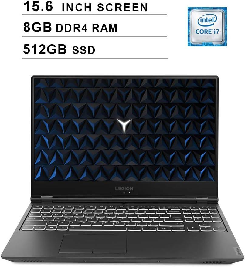 Lenovo 2020 Legion Y540 15.6 Inch FHD IPS Gaming Laptop (9th Gen Intel 6-Core i7-9750H up to 4.5 GHz, 8GB RAM, 512GB PCIe SSD, Nvidia GeForce GTX 1660 Ti, Bluetooth, WiFi, HDMI, Windows 10)