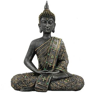 buddha statue 30cm die feng shui dekoration fr ihr wohnzimmer - Buddha Deko Wohnzimmer