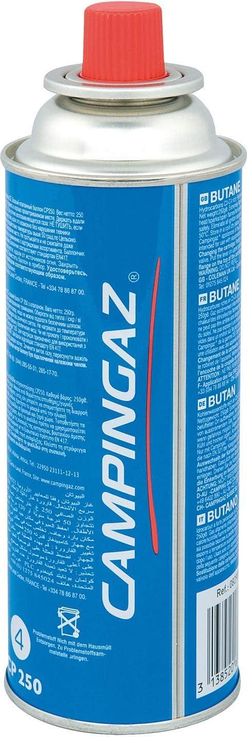 Campingaz - Cartucho de gas con válvula CP 250 para hornillos ...
