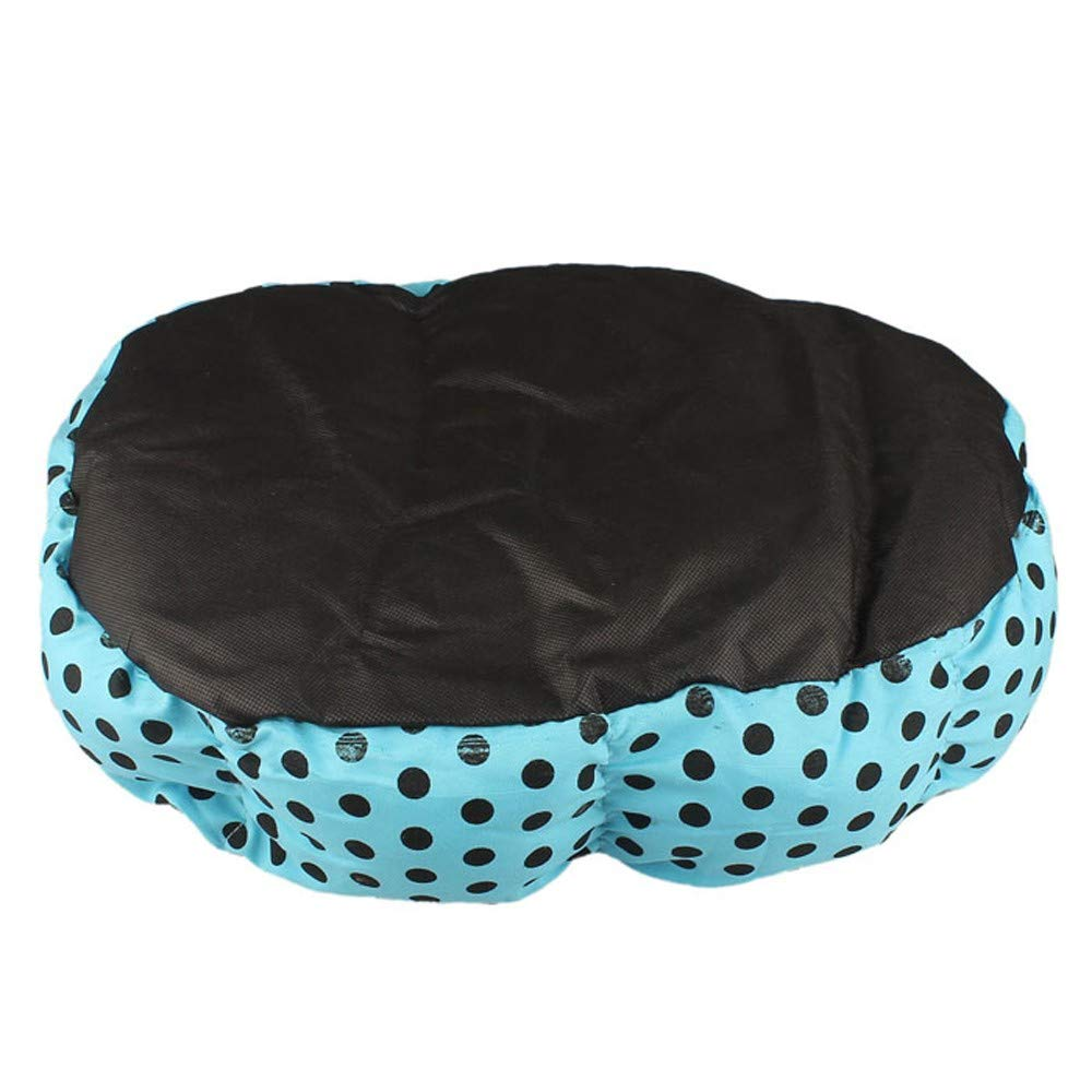 2019 New! Pet Bed,Small Dogs Winter Warm Fleece House Puppy Cat Plush Cozy Nest Mat Pad (36cm x 30cm, Blue) by Leewos-Pet Clothes (Image #5)